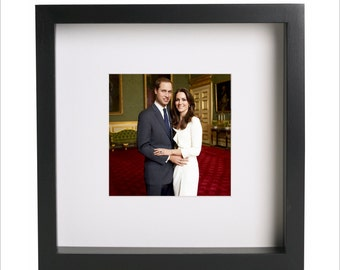 Prince William and Kate Middleton photo print | Use in IKEA Ribba frame | Looks great framed for gift | Free Shipping | #2