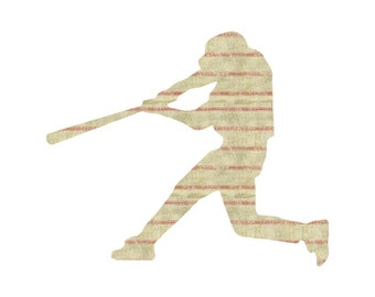 Baseball Craft Vinyl. UV Laminated. Various Sizes Available.