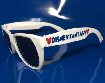 YOUTH Disney Cruise Sunglasses, Fish Extender Gift, Personalized Mickey Minnie Gift, Kids Children's Sunglasses