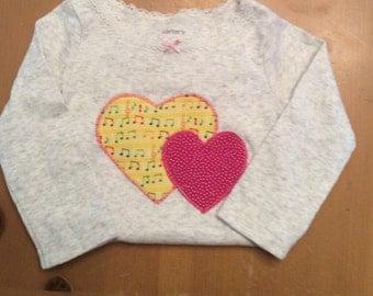 Heart bodysuit