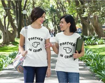 Partner In crime t shirt