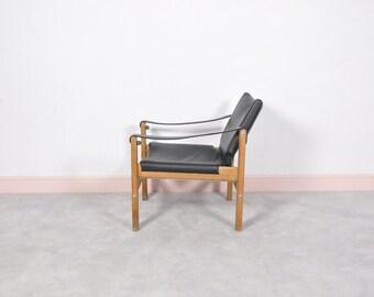 Mid century safari chair