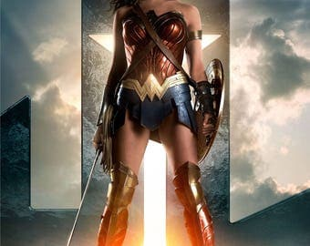 FREE SHIPPING Justice League movie poster 11z17