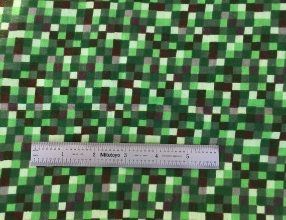 minecraft inspired pixel fabric by the half yard by
