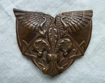 Vintage Edwardian, Art Nouveau style buckle