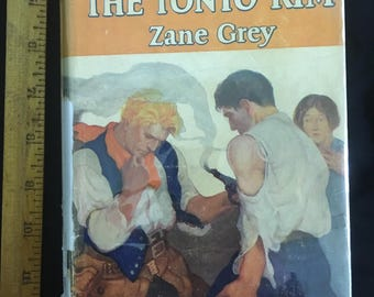 Under the Tonto Rim (first edition) by Zane Grey
