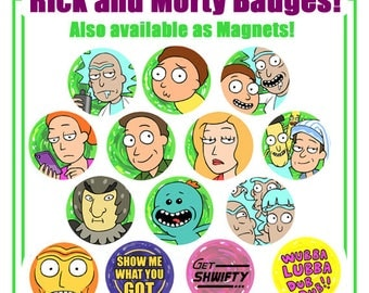 Rick and Morty Pins