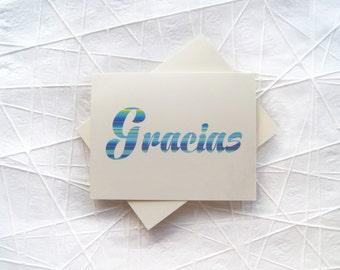 Gracias Notecards Greeting Cards Set