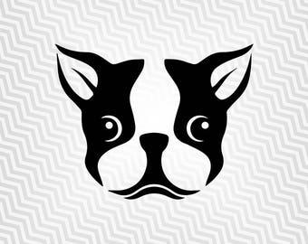 French Bulldog Svg, Dog, Cutout, Vector, Cricut, Silhouette Cameo, die cut, instant download, Digital Cut, Print Files, Ai, Pdf, Svg, Dxf