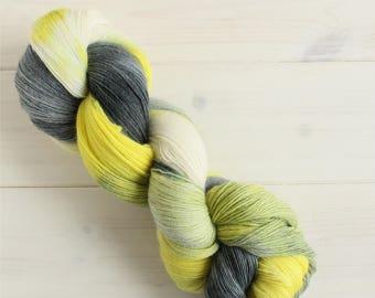 Weyland-Yutani - Alien themed hand dyed yarn - lace weight yarn - 100g skein