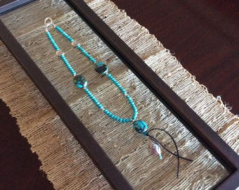 Handcrafted Turquoise Necklace