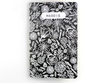 Custom Bullet Journal | Custom Notebook | Custom Journal | Floral Notebook | Sketchbook | Hand Lettering | Travel Journal | Eco Friendly