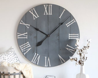 Farmhouse Clock Etsy