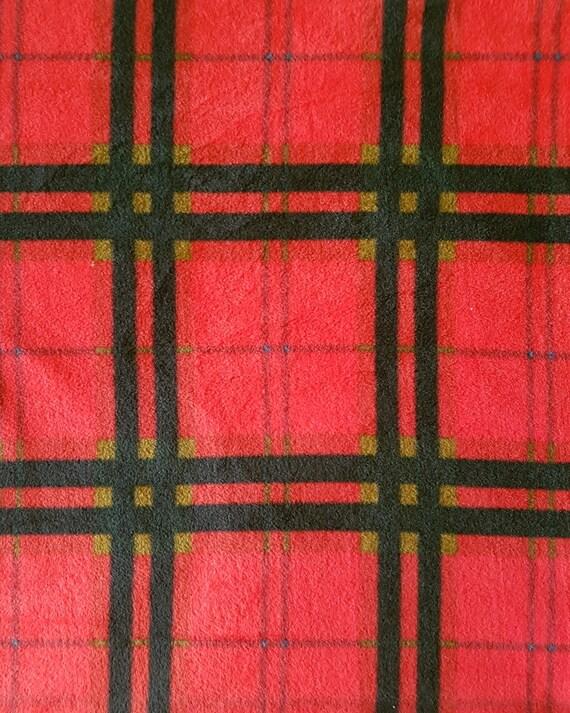 plaid fleece fabric fleece fabric by the yard. Black Bedroom Furniture Sets. Home Design Ideas