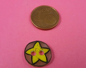 "Children subject button, button with Star ""Star"""