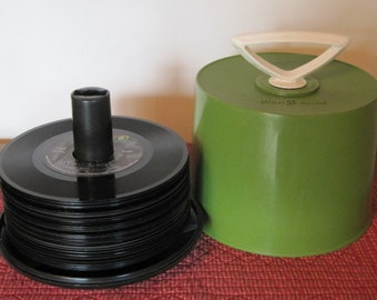45s, Disk-Go-Case, Case with 45s, 1970 45s Records