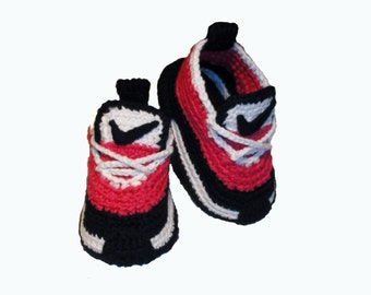 Sneakers, Slippers,  Baby slippers, Kid's sneakers , Crochet baby Shoes, Slippers with sole
