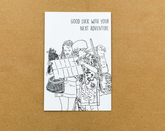 Good Luck with your next adventure, Moonrise Kingdom, Wes Anderson