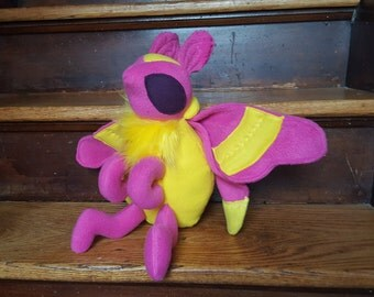 Rosy Maple Moth Plush
