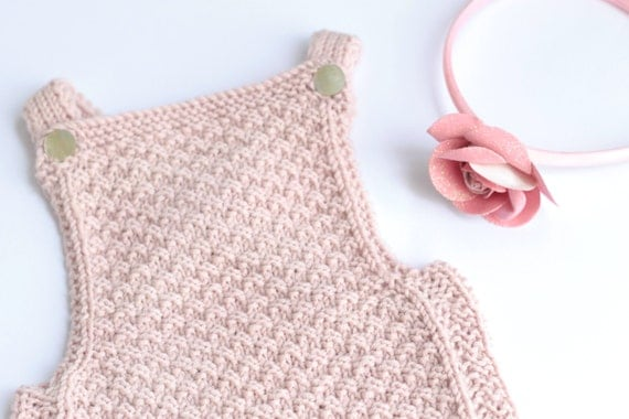 Knitting Pattern Baby Jumpsuit : Baby romper Knitting pattern