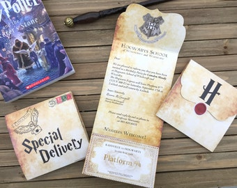 Harry Potter Themed Party Invite