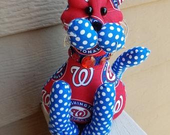 Washington Nationals Baseball Cat
