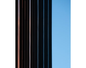 Line Up - Fine Art Photography, Colour Print, Architecture, Clean, Minimal, 16x20, Custom Sizes