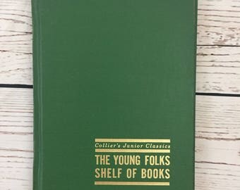 Colliers Junior Classics The Young Folks Shelf of Books, #9 CALL OF ADVENTURE, Book Set Replacement, Children's Book, 4th Edition, 1964