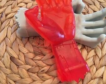 Scarey Zombie Hand Soap,Walking,Dead,Novelty Soap,Back Scratcher Soap, Birthday Gift,Handmade Soap