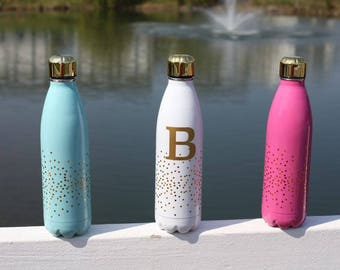 Confetti Stainless Steel Water Bottle