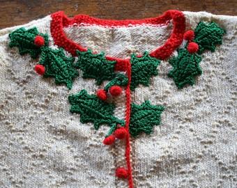 Holly Cardigan by Anna Wilkinson, Tatty Devine x Anna Knits, hand knitting/crochet pattern, DOWNLOADABLE PDF
