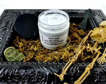Grave Digger 4oz Silky Body Butter!
