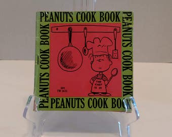 1969 Peanuts Cookbook Charles M. Schultz Charlie Brown Book