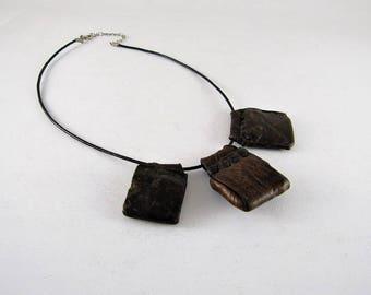 Ethiopian amulets necklace