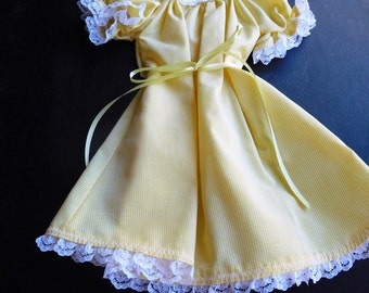 Nightgown for 18 inch Dolls