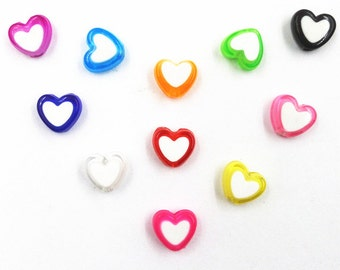 Heart Beads (300 count)