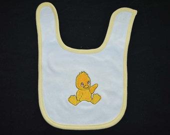 Yellow Duckie Bib