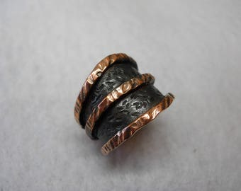 Copper Shadow Ring