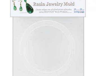 "Resin Jewelry Mold .75""X.375""X2.625"" Bangle Bracelet"