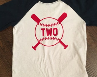 Baseball Birthday Tee
