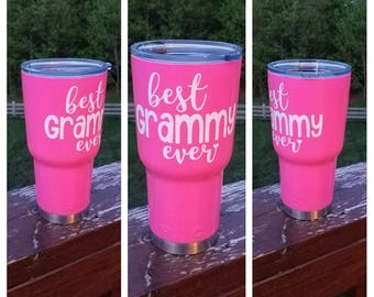 Best Grammy Ever tumbler / Grammy gift / Grandmother gift / RTIC Tumbler 20 oz, 30 oz