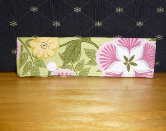 Floral print needle cozy, FREE SHIPPING!!! Knitting needle Keeper
