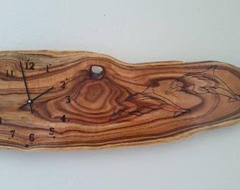 Wooden, Handmade Wall clock