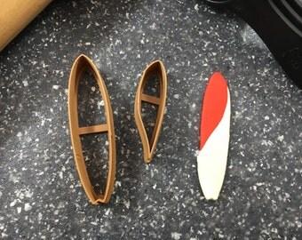 Surf Board Cookie Cutter