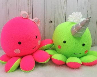 Custom Stuffed Octopus; Cute Octopus Plush, Octopus Plush, Octopus Plushy, Stuffed Animal, Toy Octopus Stuffy, Stuffed Octopus, Octopus Toy