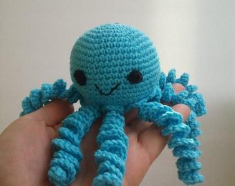 Crochet octopus, Octopus crochet,  preemie octopus, Cute Octopus, Octopus Toy, Octopus decor, Octopus Plush, Octopus for baby , newborn