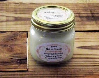 Flannel Sheets Scented Wood Wick Soy Candle