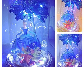Small Cinderella Character light dome