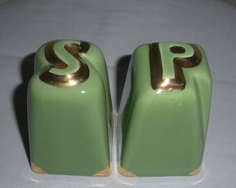 Art Deco Salt and Pepper Shakers