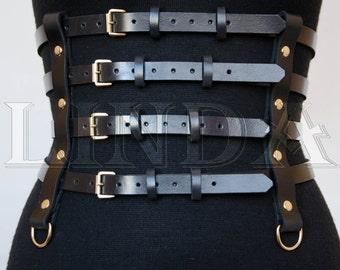 Black Belt, Black Leather belt   Real Leather Belt  Handmade Belt   Plus size belts, Wrap belt